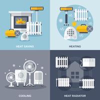 Verwarmen en koelen plat