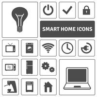 Slimme Home Icons Set vector