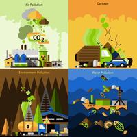 ontwerpset voor vervuiling