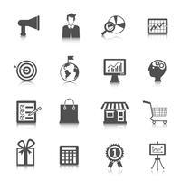 marketing pictogrammen instellen