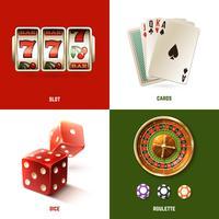 Casino ontwerpconcept vector