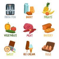 Voedsel Icons Set