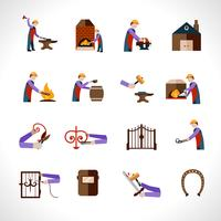 Smid Icons Set vector