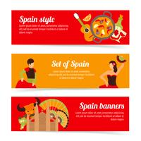 Spanje banners instellen