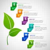 Origami infographics energiemalplaatje