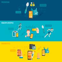 digitale gezondheidsbanner