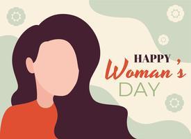 Gelukkige vrouwendag vector