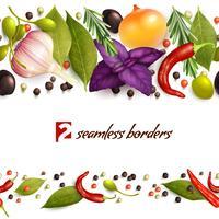 Kruiden en specerijen patroon