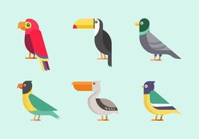 Vogel Clipart vector