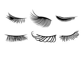 Wimpers Clipart Set
