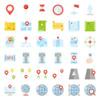 Kaart, locatie, pin en navigatie