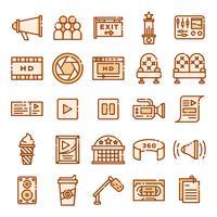 Cinema-iconen pack