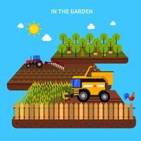 Landbouw Concept Illustratie