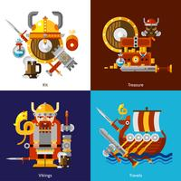 Viking leger pictogrammen instellen