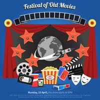 Filmfestival-poster vector