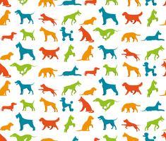 Hond naadloze patroon