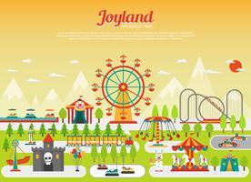 Pretpark concept