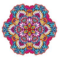 Decoratieve Mandala-kleur