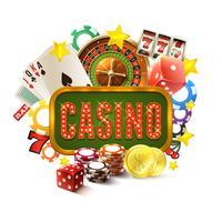 Casino Frame Illustratie