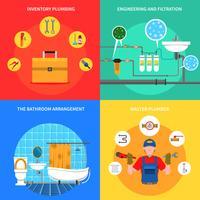 Sanitair Concept Set vector