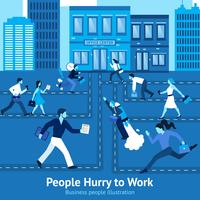 Mensen uit het bedrijfsleven illustratie vector