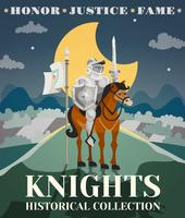 Ridder Poster Illustratie