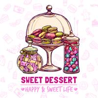 Candy Shop-poster vector