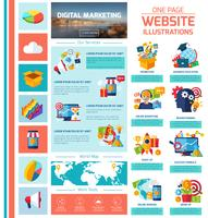 Digitale marketing Infographics