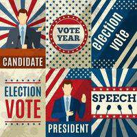 Vintage politiek posters