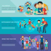 Vaderschap Banner Set