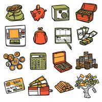 Financiële pictogrammen instellen
