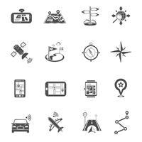 Locatie Flat Icon Set