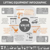 Industriële apparatuur infographic