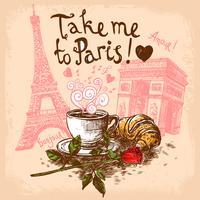 Breng me naar Parijs concept