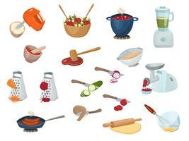 Kookproces instellen vector