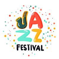 jazz teken concept vector
