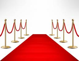Red Carpet Celebrities formele evenement Banner vector