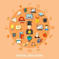 Virtuele onderwijscompositie