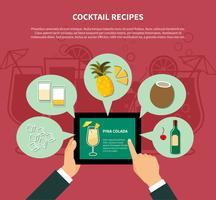 Cocktail recept sjabloon