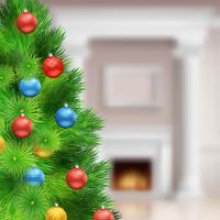 Feestelijke kerst sjabloon