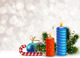 Decoratieve Kerst Achtergrond vector