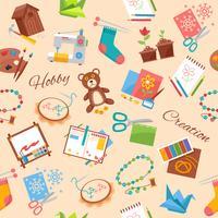 Hobby en handwerkpatroon