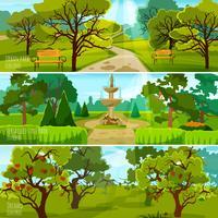 Tuinlandschap Banners