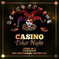 Joker Poker Illustratie