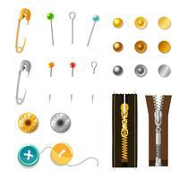 Metalen accessoireset