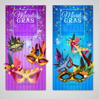 Carnaval Banners Set vector
