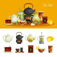 Thee Icons Set vector