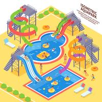 Aqua Park Illustratie