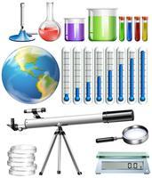 Set van wetenschappelijke tool vector