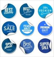Moderne badges stickers en labels-collectie vector